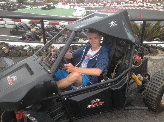 Go Karting San Bartolome: Lewis