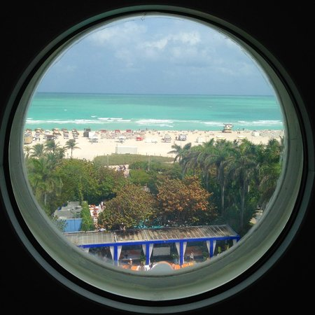 Shore Club South Beach Hotel : View from the Lookout Suite, Shore Club