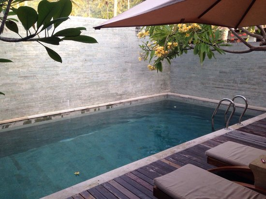 Living Asia Resort and Spa Lombok: Living Asia private pool
