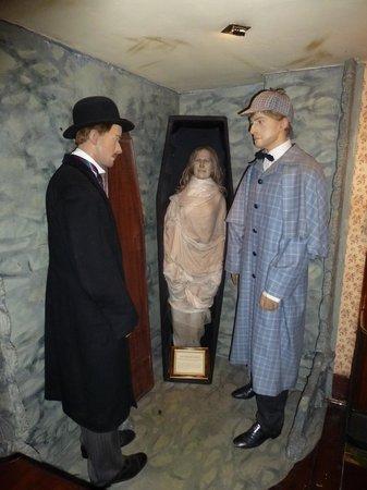 Sherlock Holmes Museum: Sherlock und Dr. Watson