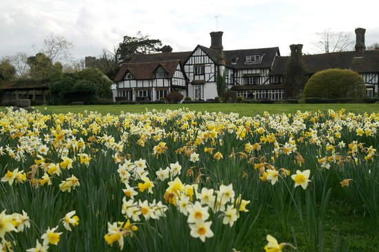 Ghyll Manor Hotel & Restaurant: Spring at Ghyll Manor