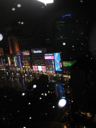 Grand Central Hotel Shanghai: view of Nanjing Rd
