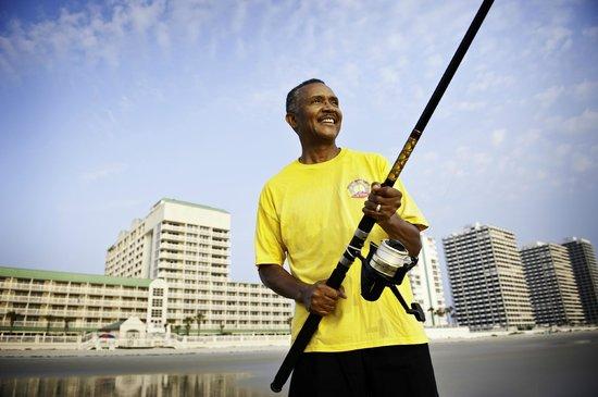 Daytona Beach Resort and Conference Center: Surf Fishing