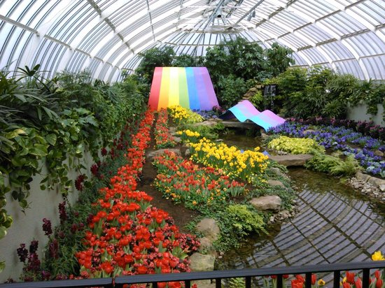 Inside Phipps Picture Of Phipps Conservatory And Botanical Gardens Pittsburgh Tripadvisor