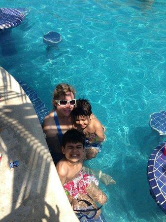 Mr Sanchos Beach Club Cozumel : nice pool