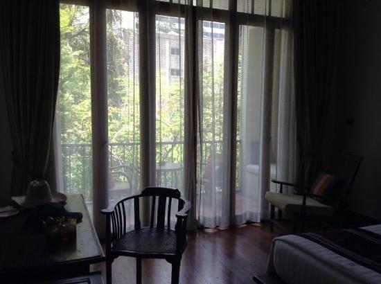 Ariyasomvilla: view of the balcony