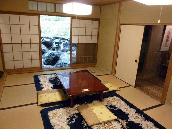 Salon Haraguchi Tenseian: Salle à manger