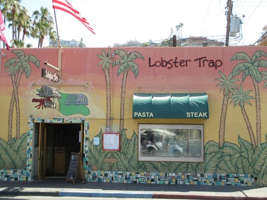 The Lobster Trap : Great local spot