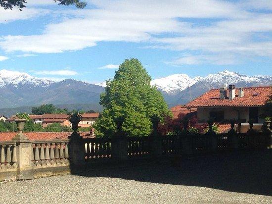 Sina Villa Matilde: view from breakfastroom