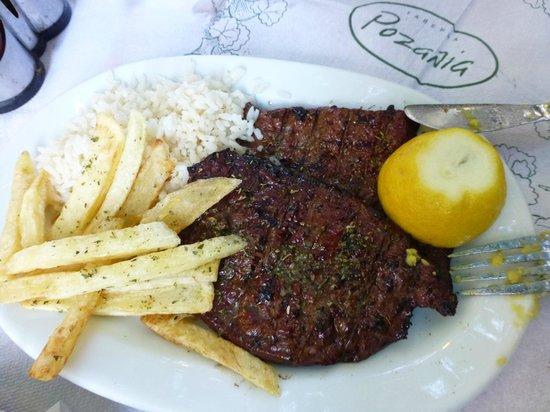 Rozalia : Grilled calf liver
