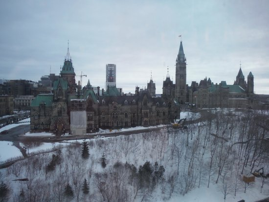 Fairmont Chateau Laurier: MILLION DOLLAR PARLIAMENT VIEW