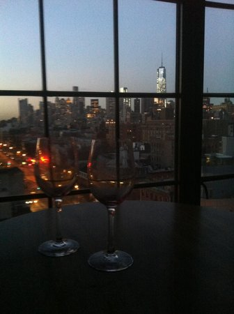 The Bowery Hotel: Corner room with a view