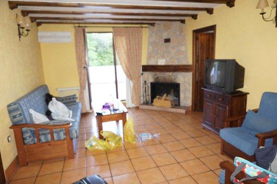 Hotel Paraiso de Bujaraiza: Vista general del salon