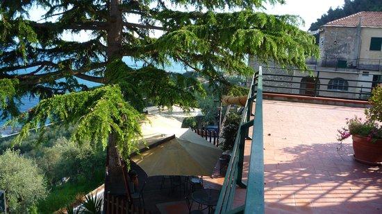 Albergo Rosita: terrasse