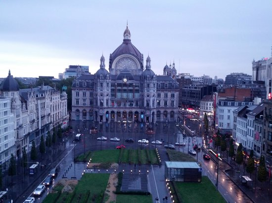 Radisson Blu Astrid Hotel, Antwerp: Central Station