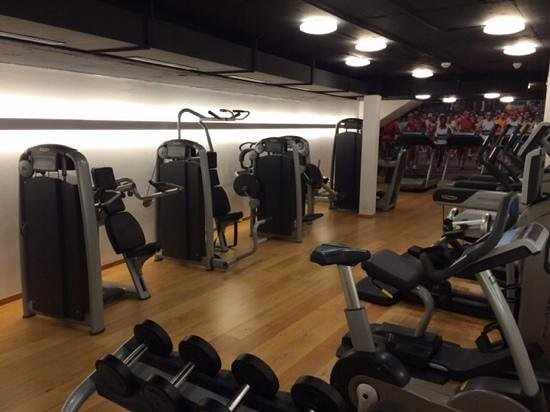 Radisson Blu Hotel, Basel : Technogym, brand new machines