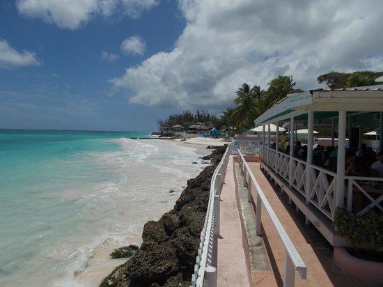 Butterfly Beach Hotel: Beach & Restaurant