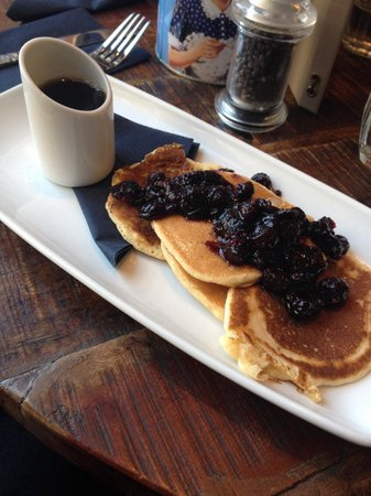 The Huxley: Pancakes with weird tasting Blueberries