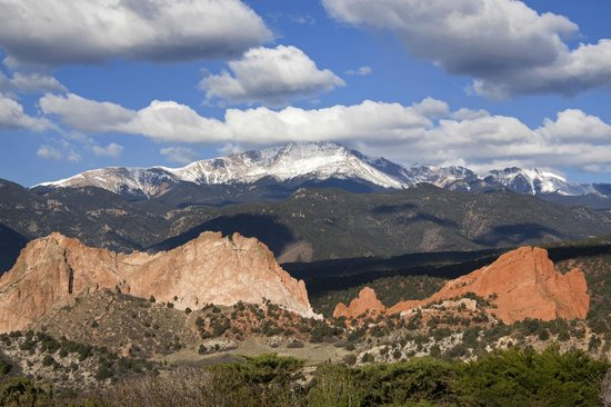 Garden of the Gods Club and Resort: Unbeatable view!