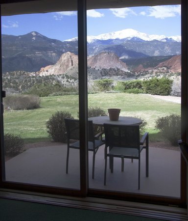 Garden of the Gods Club and Resort: View from the room