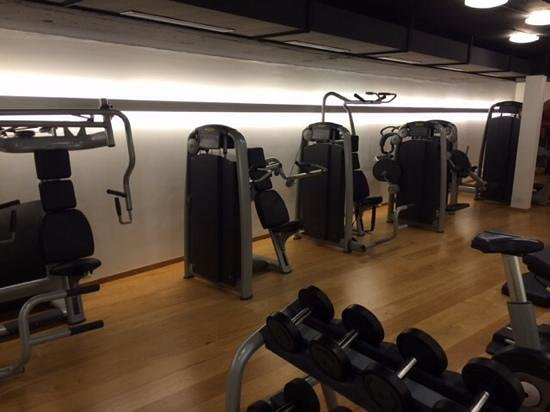 Radisson Blu Hotel, Basel : Probably best hotel gym in Basel