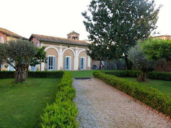 Kolbe Hotel Rome : Lovely garden
