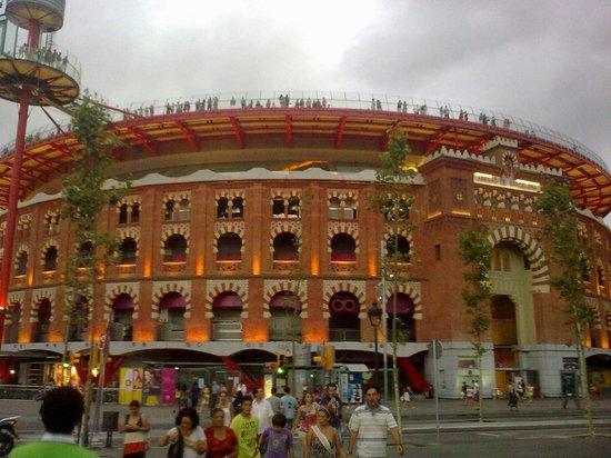 Placa Espanya : Arene de barcelone