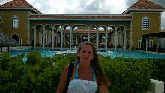 Paradisus Palma Real Golf & Spa Resort: Increíble la vista del Hotel