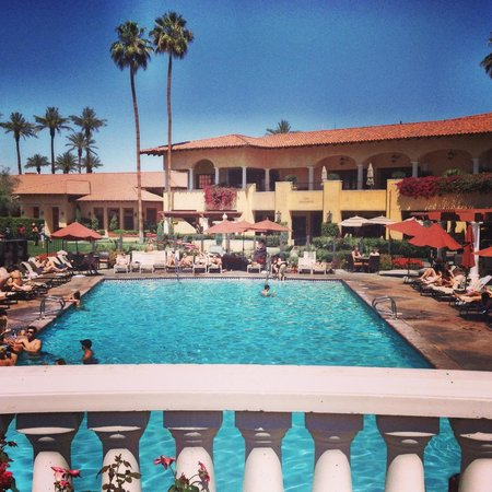 Miramonte Indian Wells Resort & Spa: view from hot tub