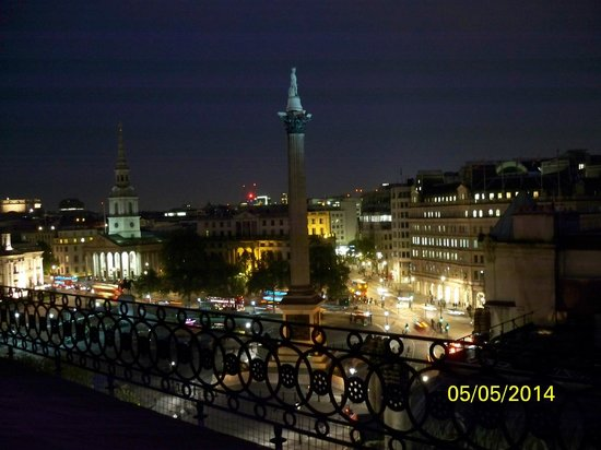 The Trafalgar Hotel : Evening view from rooftop tarrace