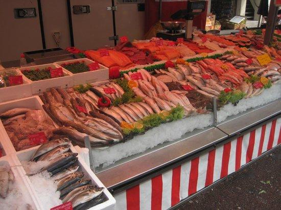 albert cuyp market -Fresh fish