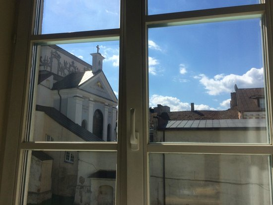 Hotel Domus Maria: nice view from the corner room