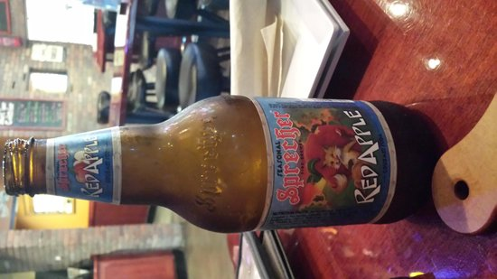World of Beer : Sparkling drink very good (Red Apple-Sprecher