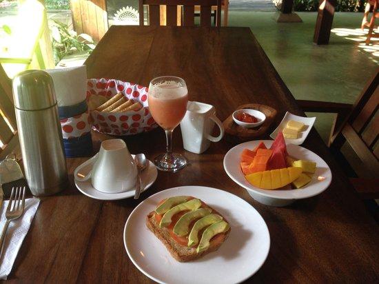 La Kukula Lodge: Sabroso y sanísimo desayuno