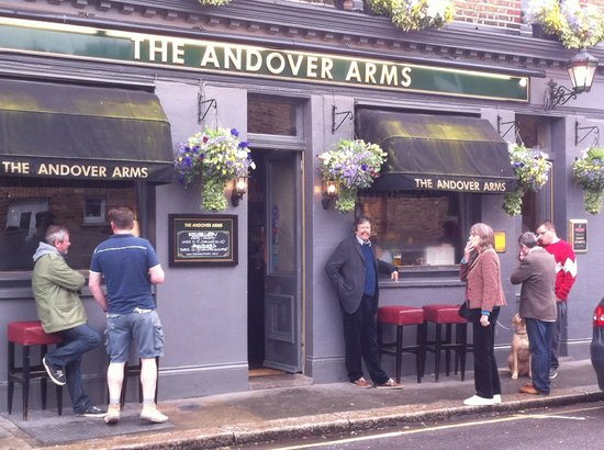 The Andover Arms : The pub