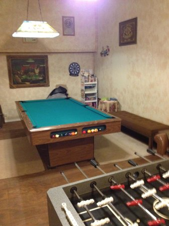 Spur, TX: game room