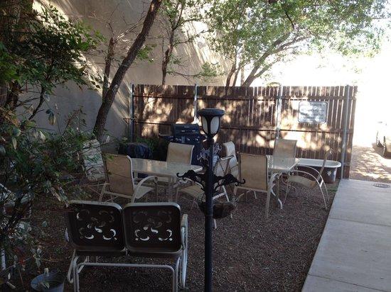 Back Door Inn: back patio