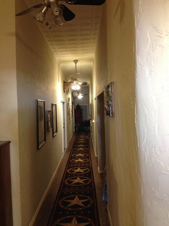 Spur, TX: the long hall