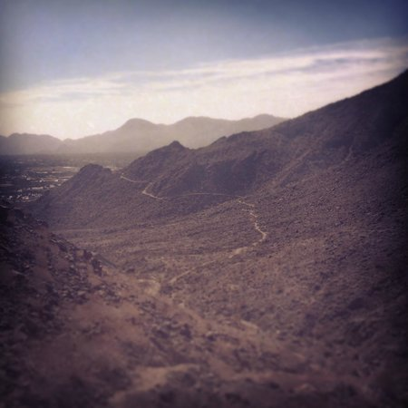 Bump and Grind Trail: views of Indian Wells