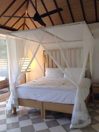 COMO Uma Ubud, Bali: Uma By Como Villa Guest Room bedroom.