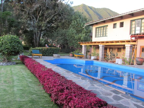 San Agustin Urubamba Hotel: Pool was Inviting