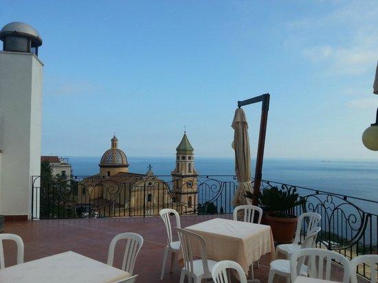 Hotel Tramonto d'Oro: Vista dalla terrazza