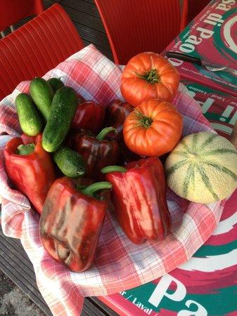 Casa di Paolo : Fruits et légumes de producteurs locaux messieurs Agostini et Rouch