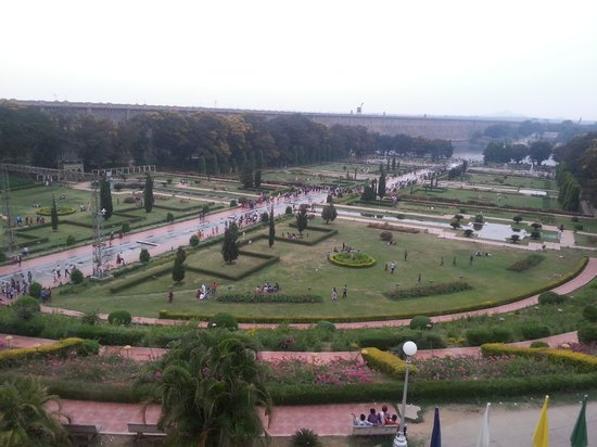 Royal Orchid Brindavan Gardens: View from room