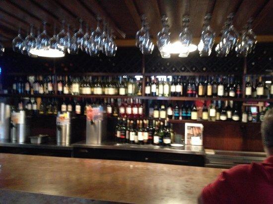 Joe's Italian Restaurant: The bar.