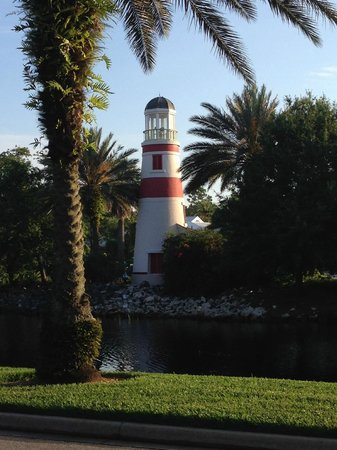 Disney's Old Key West Resort: Lighthouse at pool area