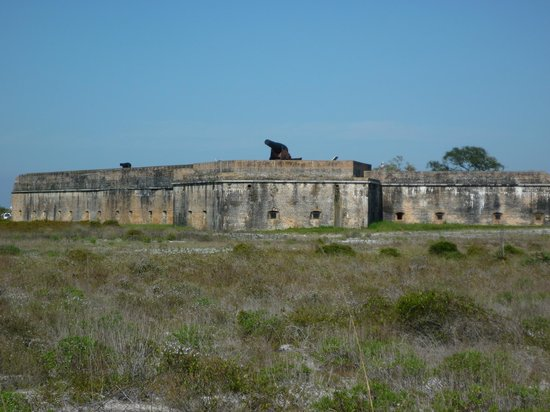Fort Pickens: Well fortified
