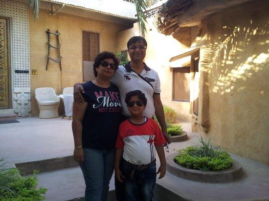 Ajit Bhawan : property from inside