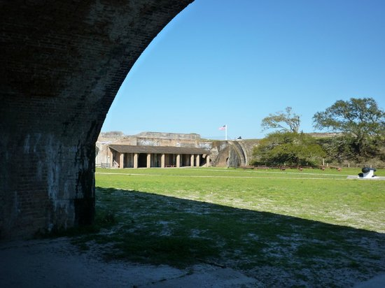 Fort Pickens: Fort covers a lot of ground