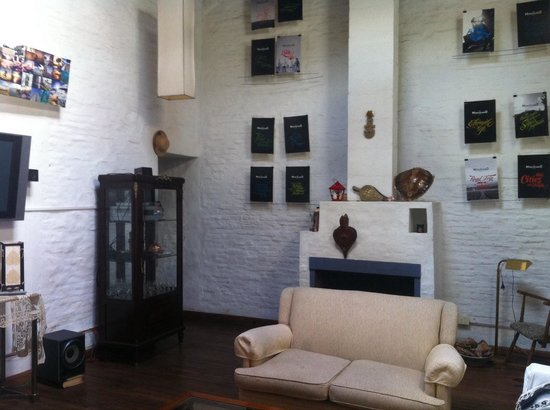 Meridiano Hostel : Lounge area
